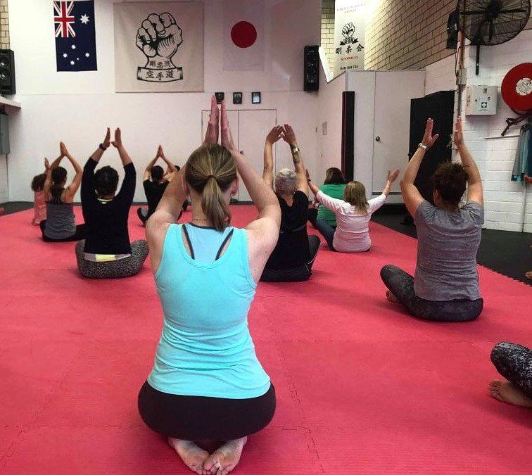Yoga at Karate Academy Sydney